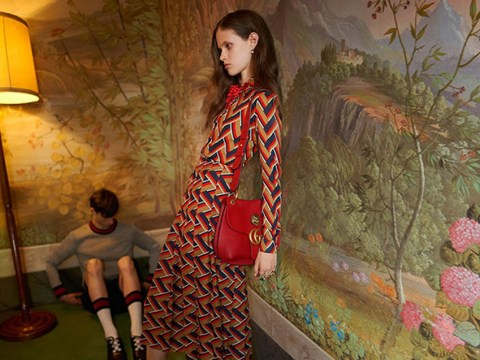 Gucci advert banned for using 'gaunt' model
