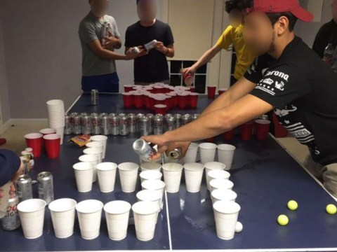 Students caught playing 'Jews v Nazis' beer pong game