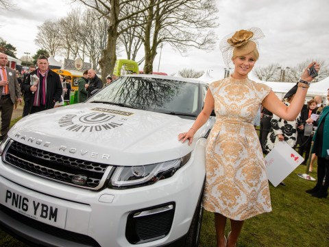 Grand National ladies day 2016: Best dressed is picked and wins a Range Rover