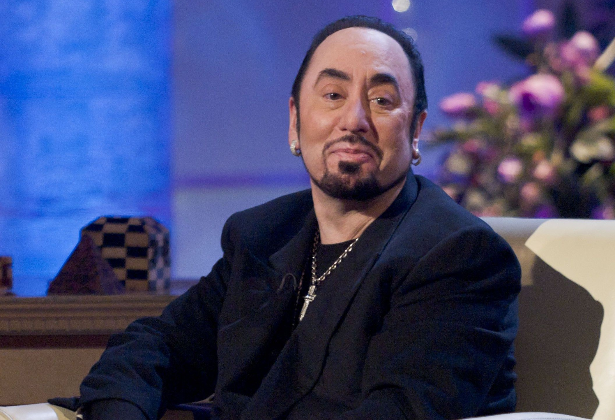 EDITORIAL USE ONLY / NO MERCHANDISING Mandatory Credit: Photo by Steve Meddle/REX/Shutterstock (1483023z) David Gest 'The Alan Titchmarsh Show' TV Programme, London, Britain. - 31 Oct 2011 Pre recorded