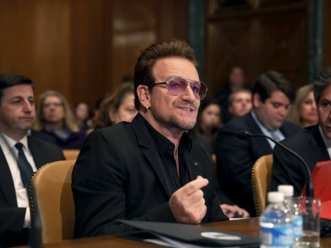 Bono wants to send Sacha Baron Cohen, Amy Schumer and Chris Rock to 'combat Isis'