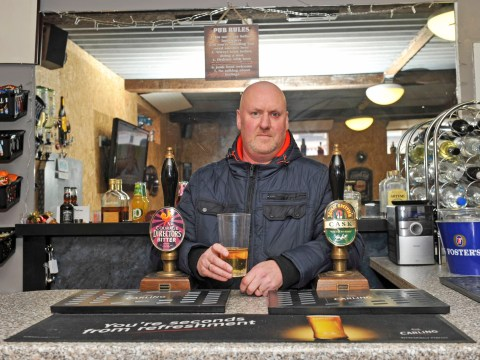 Man builds pub in back garden to help get dad's social life back after he has a stroke