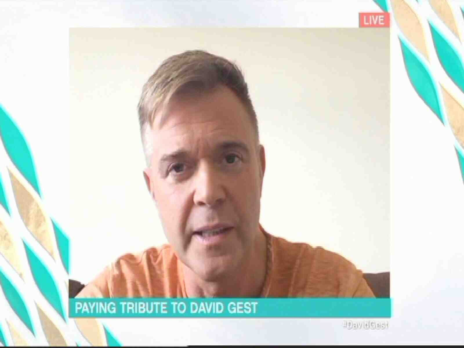 Darren Day pays emotional tribute to David Gest as he expresses 'shock' at his death