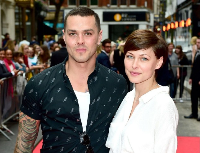Matt and Emma Willis attending the press night of American Idiot - Green Day's award-winning Broadway musical about three boyhood friends, each searching for meaning in a post 9/11 world - at The Arts Theatre, Great Newport Street, London.