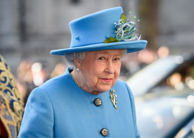 (FILES) This file photo taken on March 14, 2016 shows Britain's Queen Elizabeth II as she arrives to attend a Commonwealth Service at Westminster Abbey in central London. Queen Elizabeth II will celebrate her 90th birthday on April 21, 2016, with a family gathering and a cake baked by a reality television star, as a new poll finds Britain's longest serving monarch is as popular as ever. The queen has reigned for more than 63 years and shows no sign of retiring, even if she has in recent years passed on some of her duties to the younger royals. / AFP PHOTO / LEON NEALLEON NEAL/AFP/Getty Images