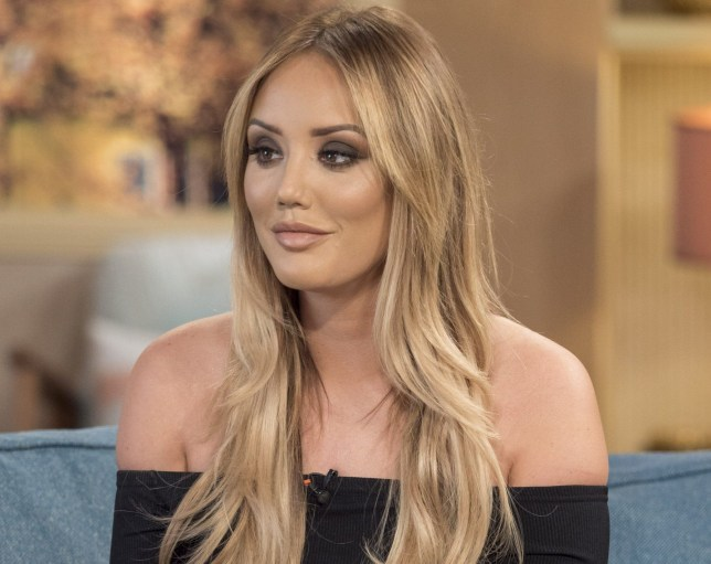 EDITORIAL USE ONLY. NO MERCHANDISING Mandatory Credit: Photo by Ken McKay/ITV/REX/Shutterstock (5652975am) Charlotte Crosby 'This Morning' TV show, London, Britain - 19 Apr 2016 'Live Fast Lose Weight' in which she reveals her best and worst diet tips, She's known for her partying and being one of TV's most shocking stars after rising to fame on Geordie Shore. But two years ago Charlotte Crosby (25) underwent a transformation, and to give us all the goss on the new 'All Stars' series of Geordie Shore about to hit our screens., dropping four dress sizes and releasing the biggest selling fitness DVD of the last 15 years. Now the reality star is hoping to set the book charts alight with her brand new release, her hangover cravings and some delicious healthy recipes. The unlikely fitness guru joins us on the sofa to discuss her new fitness book