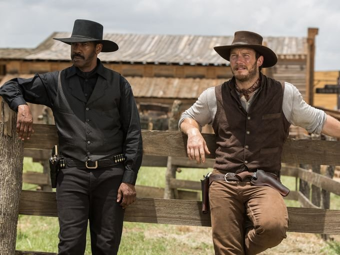 Chris Pratt is basically Star-Lord as a cowboy in the first trailer for The Magnificent Seven remake