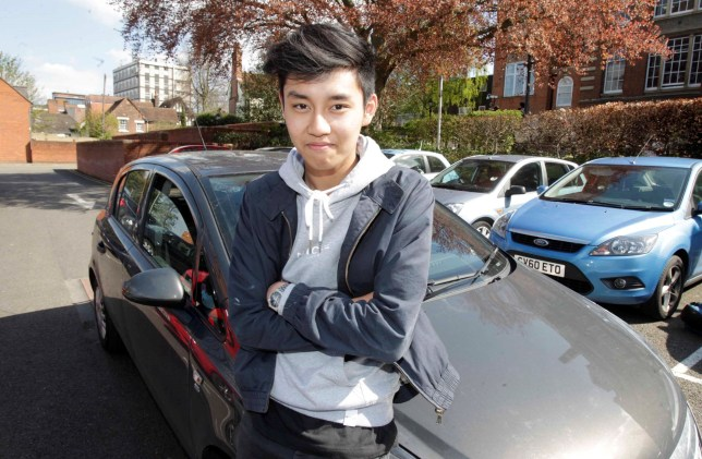 FROM JOHN JEFFAY AT CASCADE NEWS LTD 0161 660 8087 / 07771 957773 john@cascadenews.co.uk / www.cascadenews.co.uk Syndicated for Colchester Gazette With pix Tom Lo, LEARNER Tom Lo, 17, killed a DEER on his driving test - but still passed. He hit the animal at about 40mph when it ran in front of his car near Fingringhoe, in rural Essex. The examiner checked the car for damage ñ a cracked front number plate ñ continued with test and passed Tom with just two minor errors. His driving instructor Robert Jezierski said: ìHe has kept his composure and he did very well. ìWe teach them the emergency stop as part of the curriculum that we cover but it is very rarely that they have to put it into practice.î Tom, from Copford, Essex, was taking his test, in Colchester, on Monday (18 April).