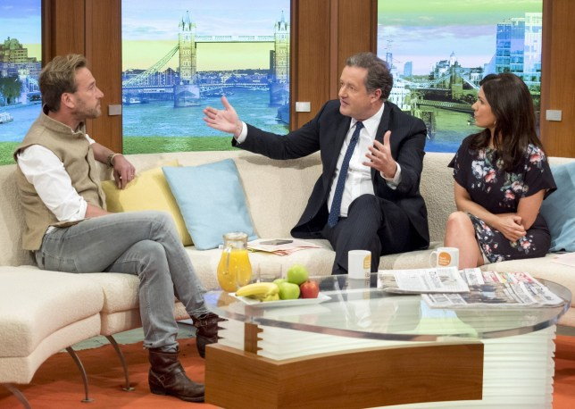 "EDITORIAL USE ONLY. NO MERCHANDISING Mandatory Credit: Photo by Ken McKay/ITV/REX/Shutterstock (5657855bd) Ben Fogle with Piers Morgan and Susanna Reid 'Good Morning Britain' TV show, London, Britain - 20 Apr 2016 Fogle had first hand experience with hunters and poachers while filming 'The Great Migration' - he filmed with ex-poachers who are being encouraged to swap sides and help to conserve wildlife., His interview got the public talking about the issue on social media...and adventurer Ben Fogle is addressing the issue in his new series., Last week Piers said he was ""repulsed"" by the multi-million pound trophy hunting industry during an interview with game hunter Diggory Hadoke., The presenter spent a year in east Africa following the migration of more than two million animals between the Serengeti in Tanzania and Kenya's Maasai Mara."