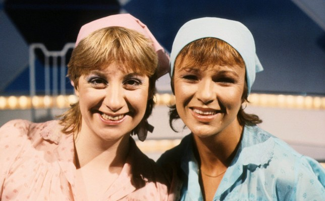 EDITORIAL USE ONLY / NO MERCHANDISING Mandatory Credit: Photo by ITV/REX/Shutterstock (1273955am) Victoria Wood and Julie Walters 'Wood and Walters' TV Programme. 1980 - 1982 TV comedy sketch show starring Victoria Wood and Julie Walters for Granada TV