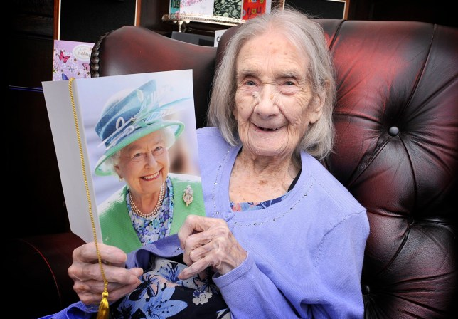 Lots of jelly babies and no men - secret to long life according to 109-year-old