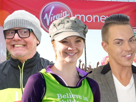 Which celebrities are running the London Marathon 2016? From Natalie Dormer to Chris Evans