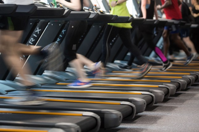 People run on treadmills to exercise during a work out session at a Pure Gym Ltd., a unit of CCMP Capital Advisors LLC in London, U.K., on Tuesday, Jan. 26, 2016. Pure Gym Ltd. hired Rothschild & Co as its considers 400m initial public offering, the Sunday Times reported, citing unidentified sources. Photographer: Simon Dawson/Bloomberg via Getty Images