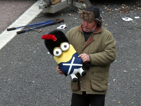 Minion 'rescue' launched after fairground trailer crashes on the motorway