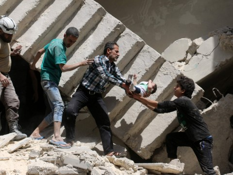 Patients and doctors killed by airstrikes on hospital in Syria