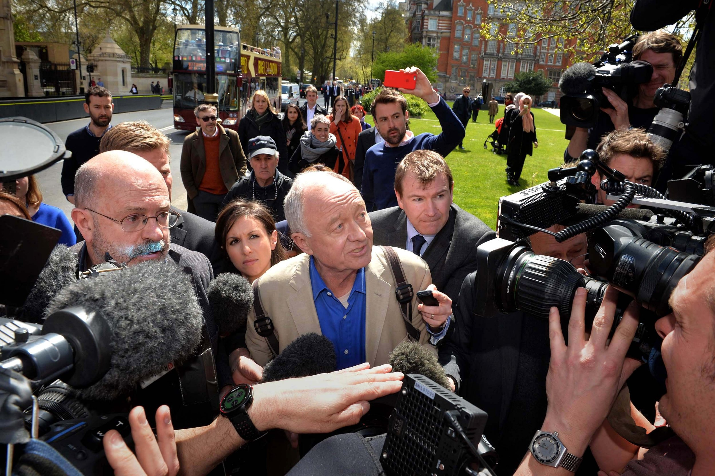 Ken Livingstone suspended from Labour following Hitler comments