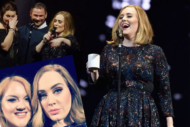 Adele tour - best moments