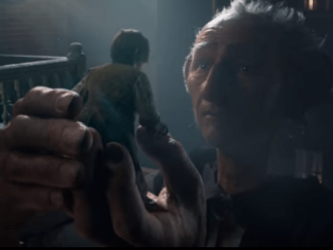 The BFG is finally revealed in new trailer for Steven Spielberg's adaptation of Roald Dahl's book