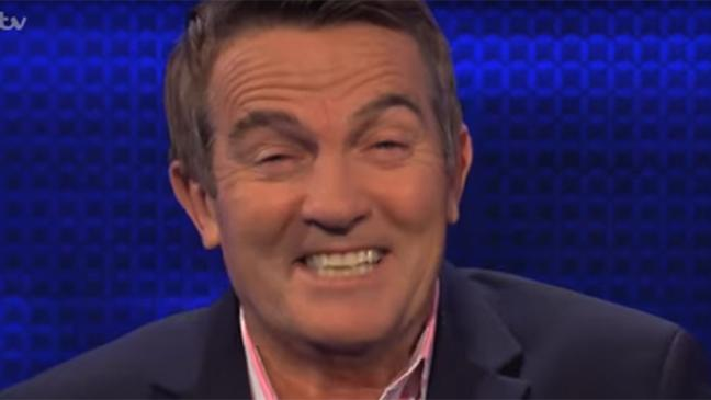 The Chase has done it again with another rude question for Bradley Walsh