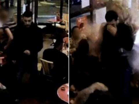 Paris attacks video shows bomber detonate suicide vest in busy restaurant