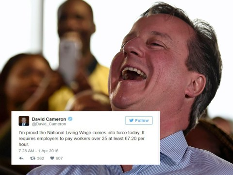 Was David Cameron's tweet an April Fool's joke?