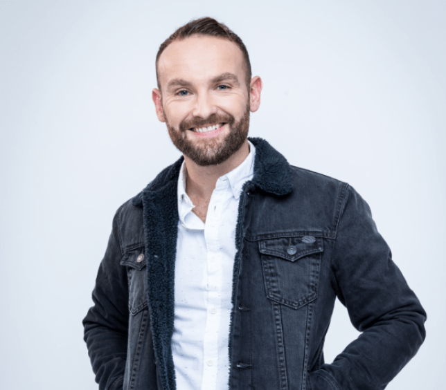 Kevin Simm won The Voice but thinks he would have bombed on The X Factor (Picture: BBC)
