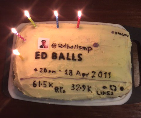Ed Balls just did something really sweet for Ed Balls Day