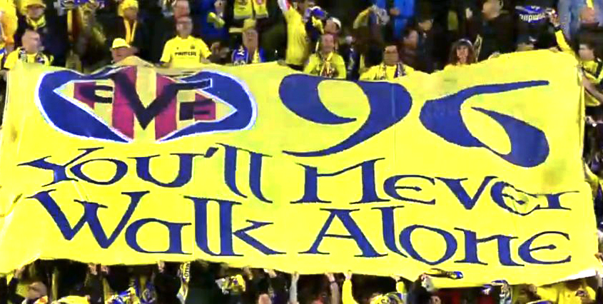 Villarreal pay touching tribute to Hillsborough victims ahead of Europa League clash v Liverpool