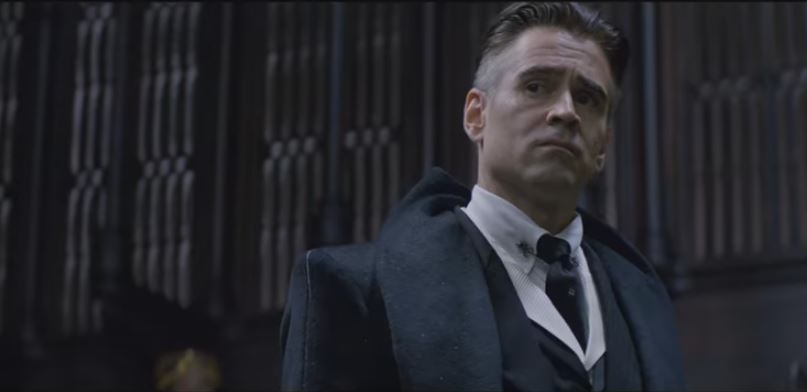 Colin Farrell as Percival Graves (Picture: Warner Bros)