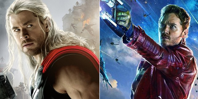 Thor and Star Lord basically confirmed for Avengers Infinity War