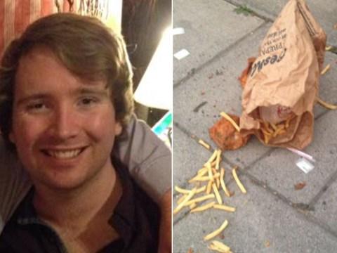 KFC-dropping monster unveiled as Cheltenham student