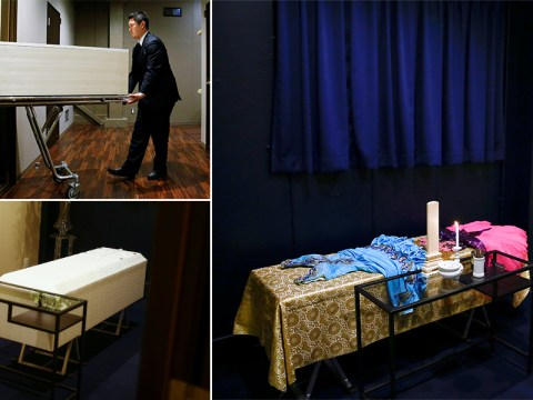 Inside a corpse hotel where dead bodies stay due to Japan's lack of crematoriums