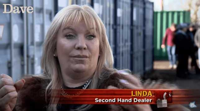 Storage Hunters' Linda Lambert has a wild imagination (Picture: Dave)