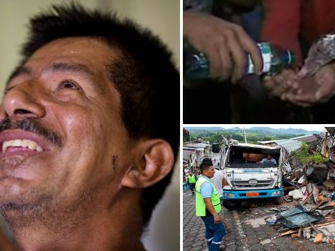 Ecuador earthquake: Incredible survivors include a duck and a man who drank his own urine