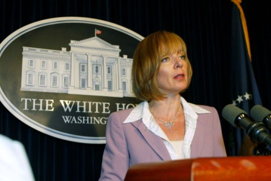 TELEVISION DRAMA: THE WEST WING STARRING ALLISON JANNEY