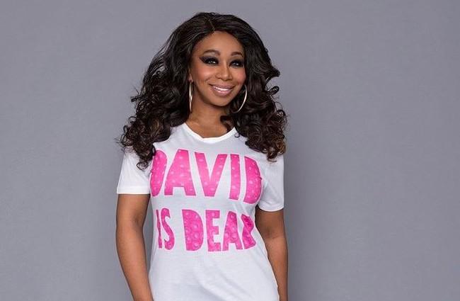 Tiffany Pollard pulls jokey 'David is dead' t-shirt from her clothing range following David Gest's actual death