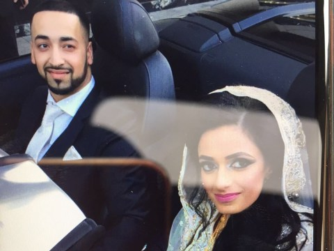 Pictured: Newlywed couple who crashed £240k Ferrari