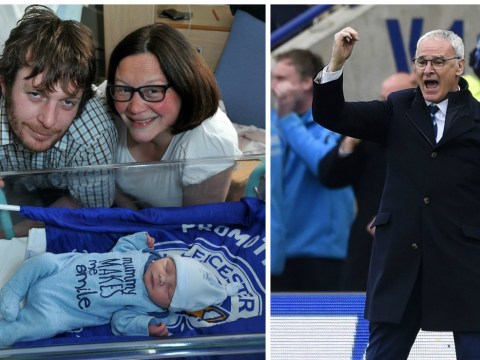 Leicester City fans name their newborn son 'Claudio' after Foxes boss Claudio Ranieri