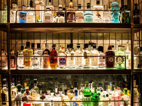 Prepare yourselves: London's largest gin bar opens next week