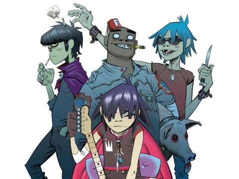 Gorillaz tease their upcoming fourth album The Fall with two new clips from the studio