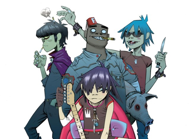 A new Gorillaz album is on the way, apparently! (Picture: Press)