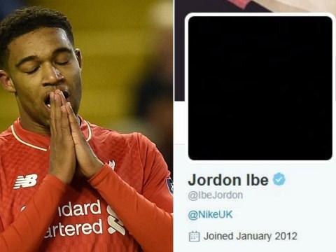 Liverpool's Jordon Ibe hints on social media he's set for transfer move