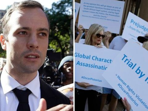 Pistorius fans are comparing him to Charlie Hebdo attack victims