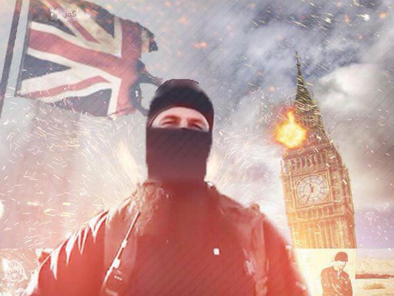 Isis video threatens terror attacks in London