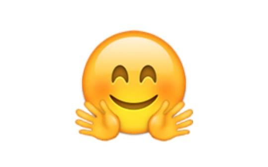 Image result for hug emoji