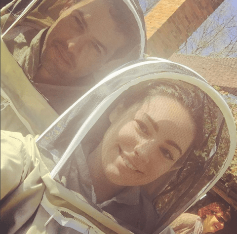 Kelly Brook's new occupation is pretty buzzing