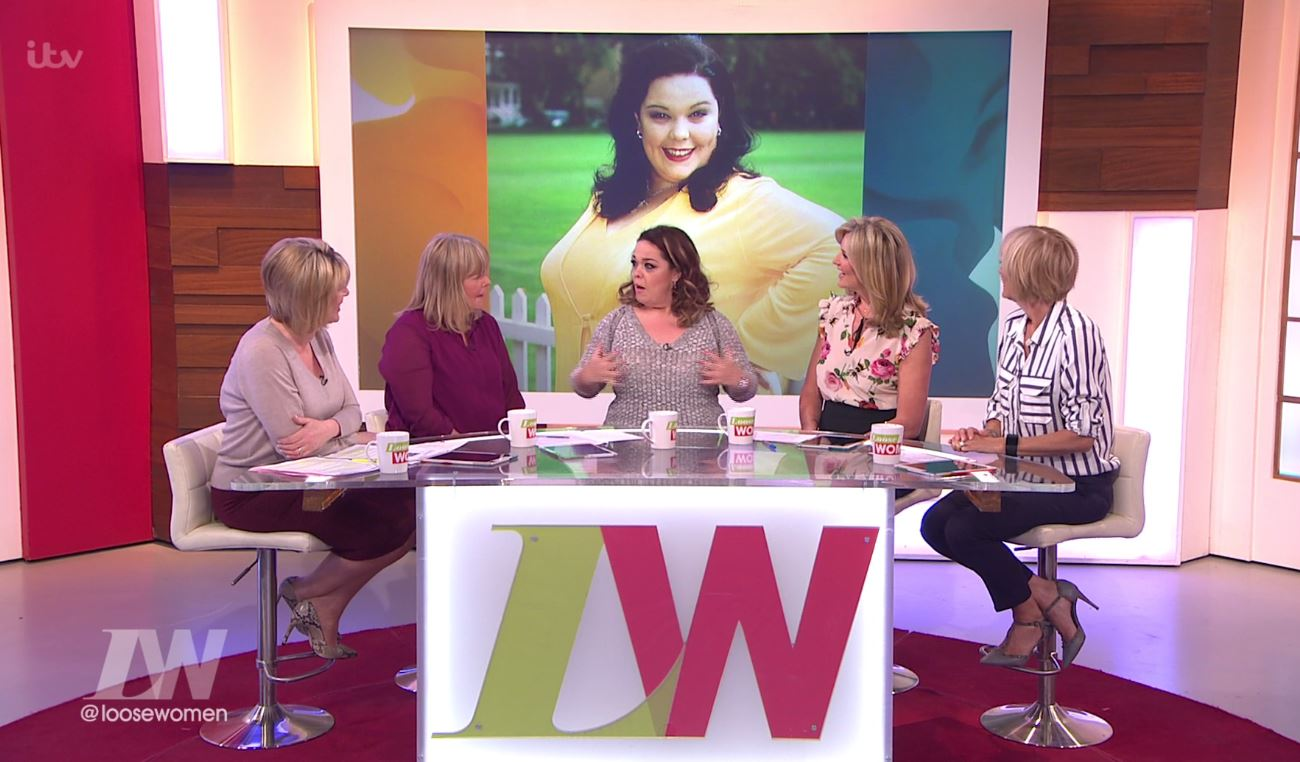 Lisa Riley shows off her incredible eight stone weight loss on Loose Women