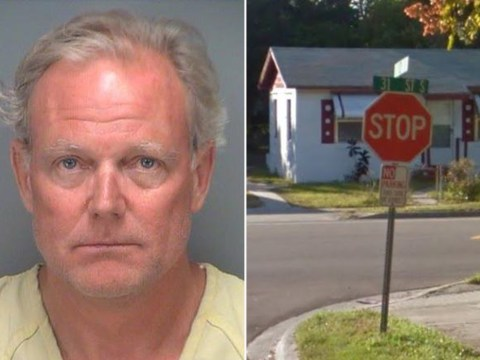 Man caught humping stop sign to make ex jealous