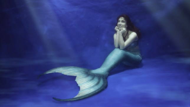 Merchelle is a professional mermaid (Picture: PH)