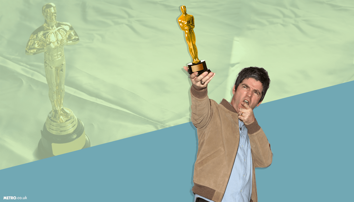 Noel Gallagher making a bid for an Oscar Pictures: Alamy/ REX Features - Credit: Mylo